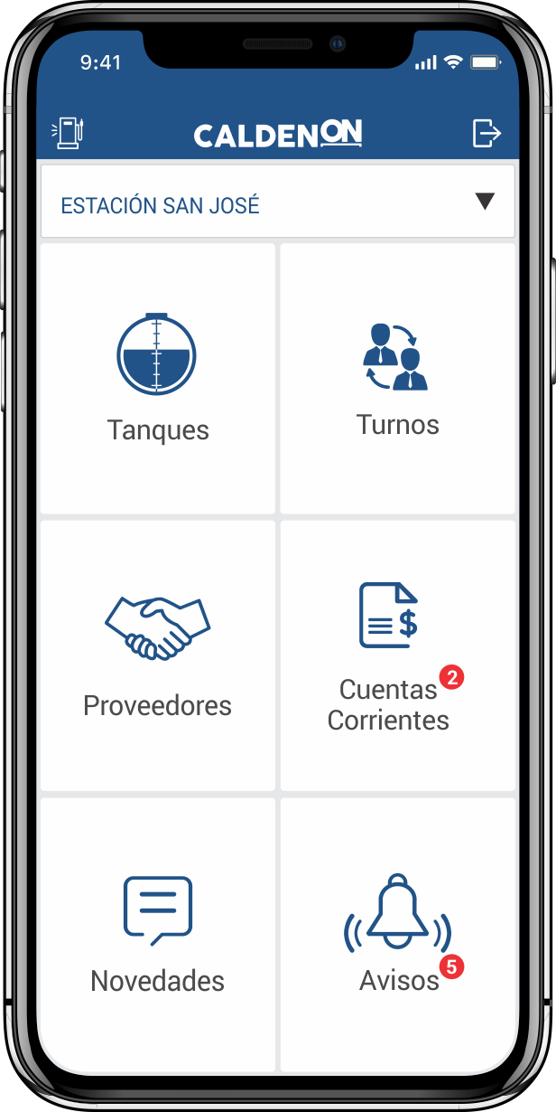 Calden ON para Android y iOS